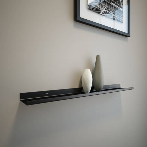 Black Shelf 24x3.5x1
