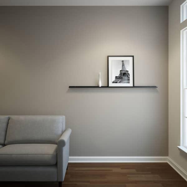 Black Shelf 60x2x1