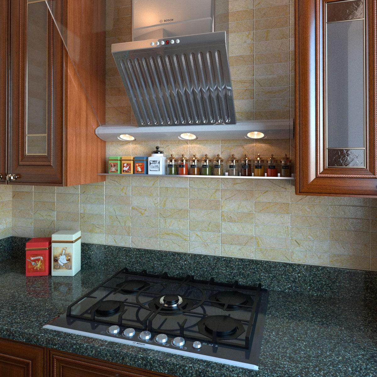 Kitchen Shelf Above Stove: Stainless Steel Floating Shelves Kitchen