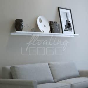 Reversible white ledge