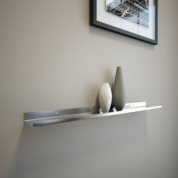 Stainless Steel Shelf 24x3.5x1
