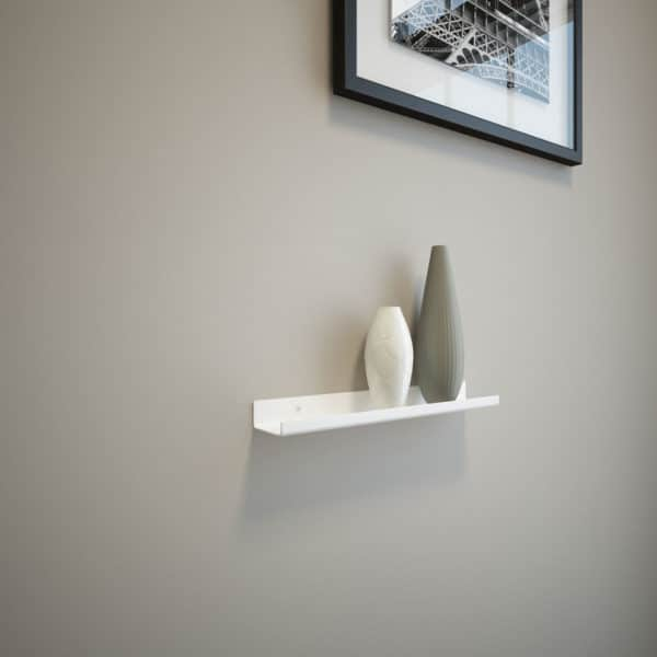 White Shelf 12x2x1